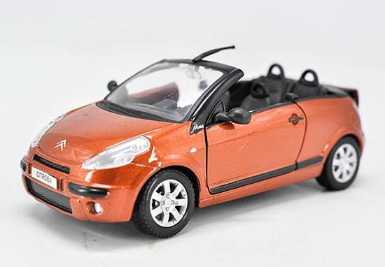 Orange 1:24 Scale Maisto Diecast Citroen Model