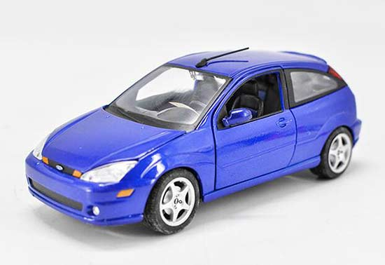 1:24 Scale Maisto Blue Diecast Ford SVT Model