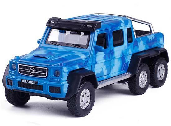 1:32 Green / Blue / Brown Kids Diecast Brabus Pickup Truck Toy