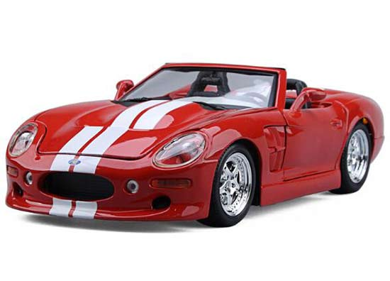 Red Maisto 1:18 Scale Diecast Ford Shelby Series One Model