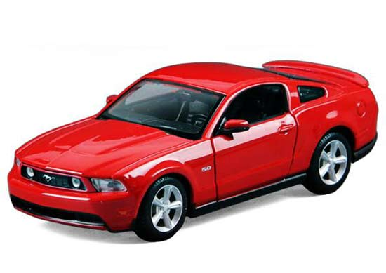 Red 1:24 Scale Maisto 2011 Diecast Ford Mustang GT Model