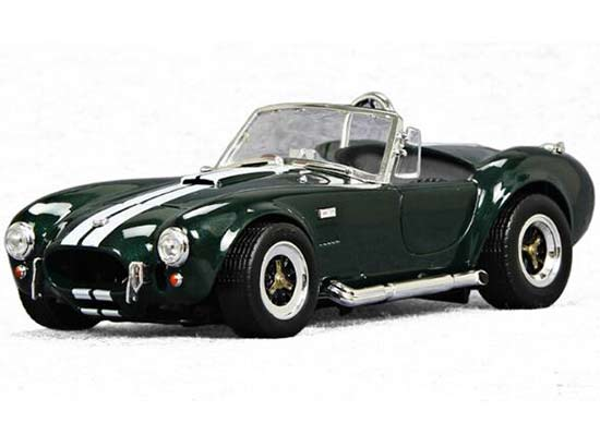 1:18 Scale Green 1964 Diecast Ford Shelby Cobra 427 S/C Model