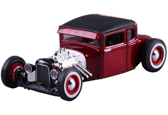 Wine Red 1:24 Scale Maisto Diecast 1929 Ford Model A Model