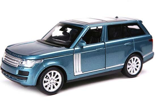 Kids White / Black / Blue / Red 1:32 Diecast Range Rover Toy