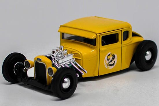 Yellow 1:24 Scale Maisto 1929 Diecast Ford Model A Model