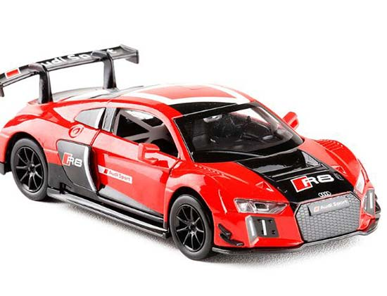Red / White Kids 1:30 Scale Diecast Audi R8 LMS Toy