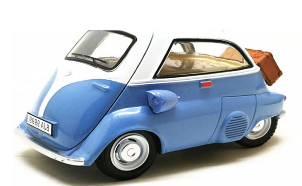 Blue / Green /Yellow / Red Diecast BMW Isetta 250 Model