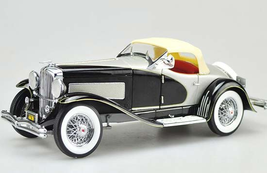 Red / Black 1:18 Ertl Diecast 1935 Duesenberg Model