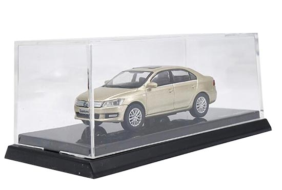 Golden 1:64 Scale Diecast VW Santana Model