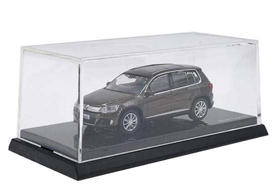 Brown 1:64 Scale Diecast VW New Tiguan Model