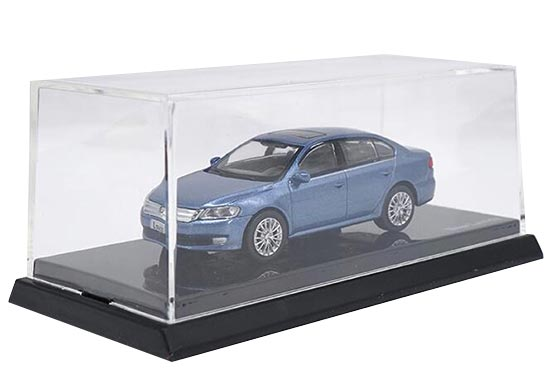 Blue 1:64 Scale Diecast VW New Lavida Model