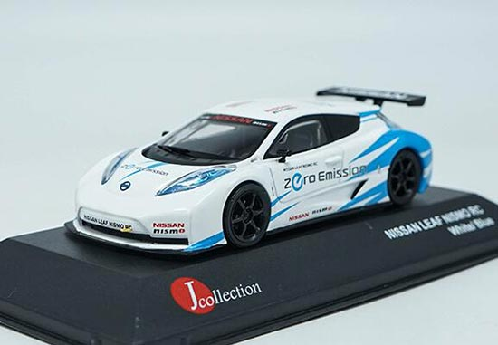 1:43 J-Collection Nissan Leaf Nismo RC white//black