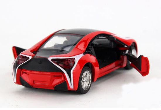 Kids Red Yellow White 1 32 Scale Diecast Bmw I8 Toy Nb2t601
