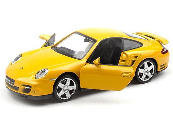 Blue White Red Yellow 1 32 Diecast Porsche 911 Turbo Toy