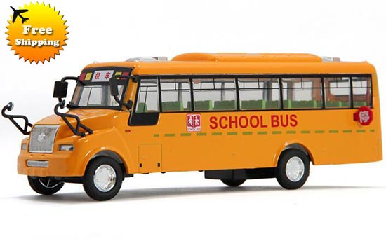 Large Scale Yellow Electric Kids School Bus Toy Nb8t013