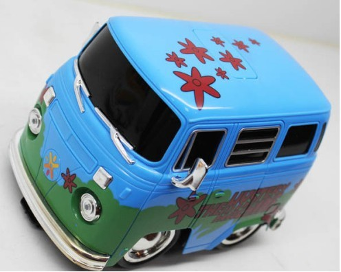 Kids Blue-green / Red-black Full Functions R/C Bus Toy