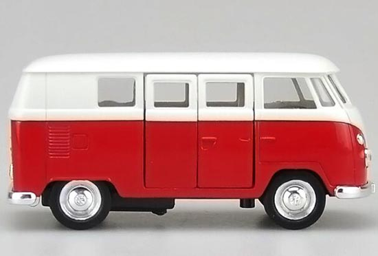 1:36 Scale Welly Brand Kids 1962 VW Bus Toy