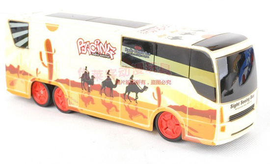 Kids Full Functions Blue /Red / Yellow / White Crazy R/C Bus Toy