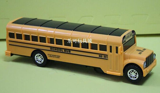 Large Scale Yellow Kids Electric U.S. Yellow School Bus Toy