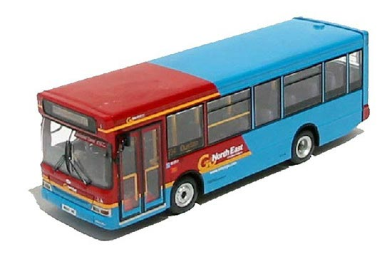 1:76 Scale Red-Blue CMNL Brand Dennis Bus Model