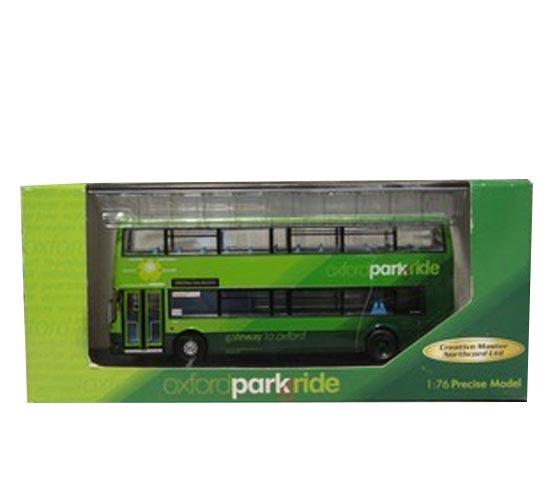 1:76 Scale Green CMNL Oxford Park Ride Bus Model