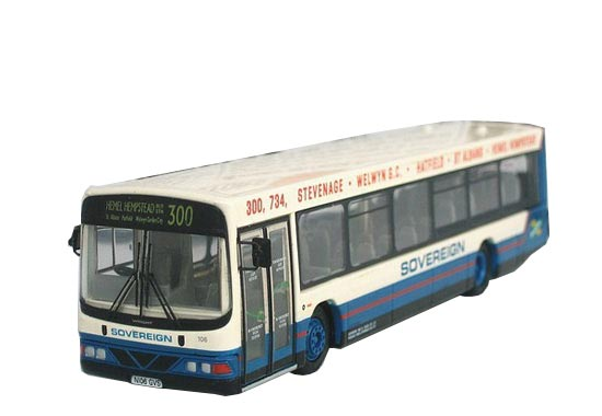 1:76 Scale White-green EFE Wrights Volvo Renown Bus Model