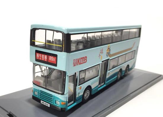 1:76 White Corgi Dragon Boat Festival KMB Double-decker Bus