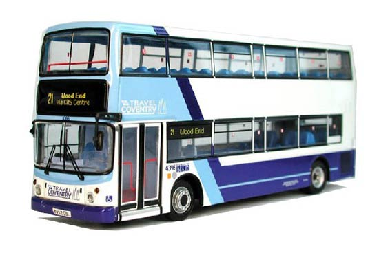 1:76 Scale CMNL Dennis Double-decker Bus Model