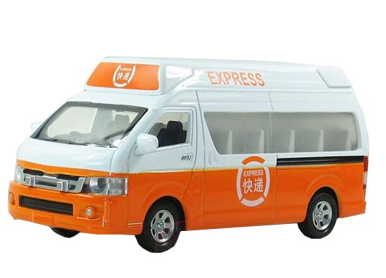 1:32 Scale Yellow-White Kids Toyota Express Bus Toy
