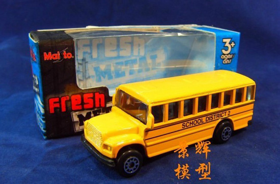 1:64 Scale Yellow MaiSto Kids Classical U.S. School Bus Toy