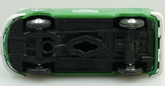 1:87 Mini Scale Green Volkswagen T1 Autobild Klassik Bus Toy