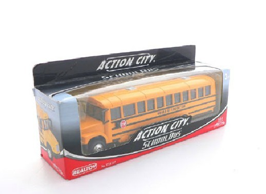 1:53 Scale Yellow Kids U.S. School Bus Toy