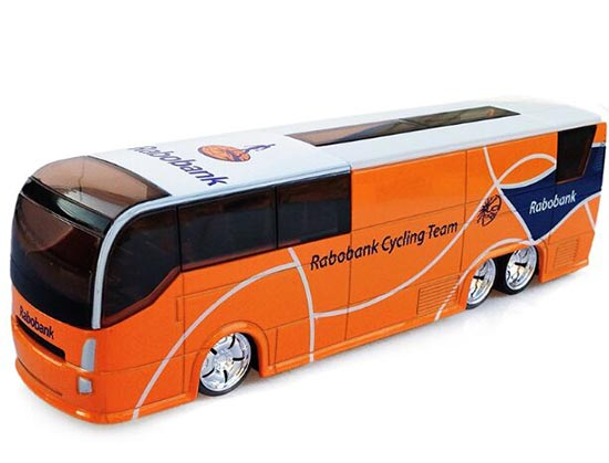 Orange 1:50 Scale TOUR DE FRANCE Rabobank Team Bus Model