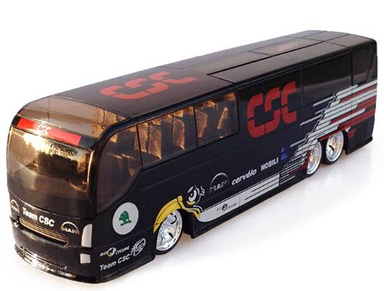 1:50 Scale Black TOUR DE FRANCE CSC Team Bus Model