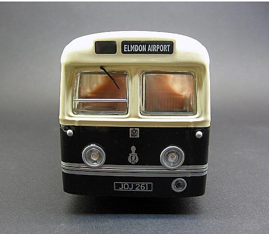 1:50 Scale white-green Corgi UK 1950s Airport Bus Model