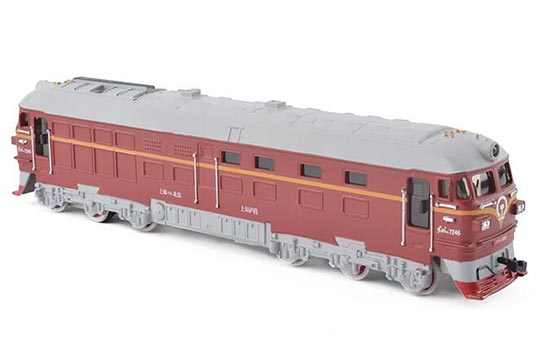 1:87 Scale Kids Red / Green / Blue Locomotive Toy