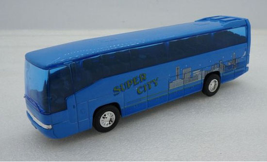 1:60 Scale Kids Welly Mercedes-Benz MB O 303 RHD Tour Bus Toy