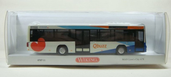 1:87 Scale Wiking MAN LION`S CITY BUS Model