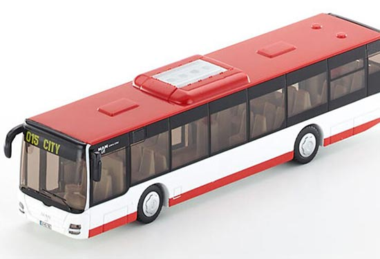 Kids 1:50 Scale Yellow / Red SIKU U3734 City Bus Toy