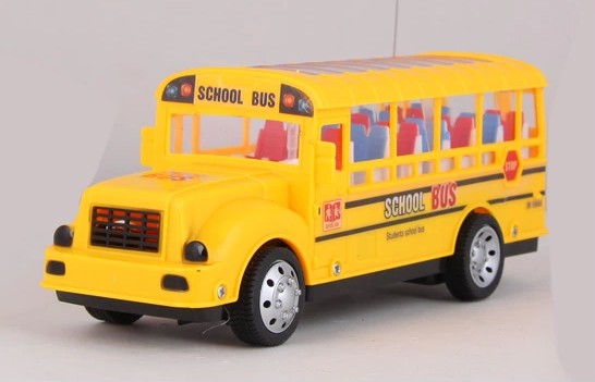 1:48 Scale Yellow Full Functions R/C School Bus Toy