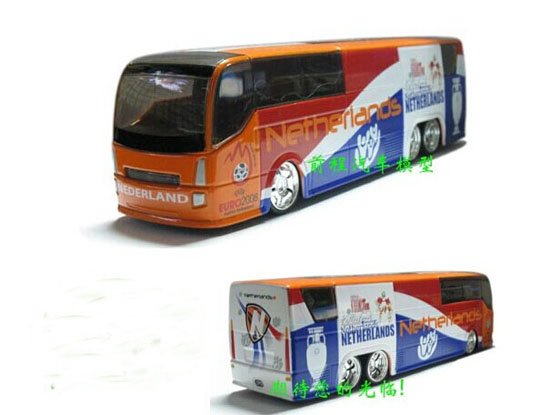 Die-Cast 2008 European Football Championship Netherlands Bus Toy