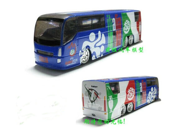 Die-Cast 2008 European Football Championship Italy Bus Toy