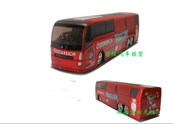 Die-Cast 2008 European Football Championship Austria Bus Toy