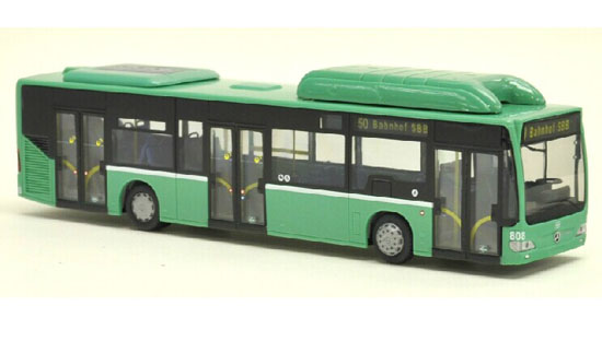 Green 1:87 Scale Mercedes-Benz Citaro City Bus Model