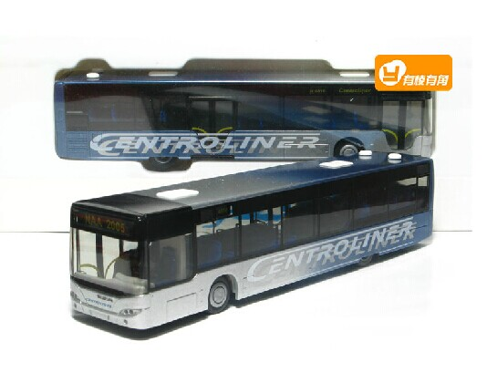 1:87 Scale Red / Blue / White Rietze Neoplan City Bus Model