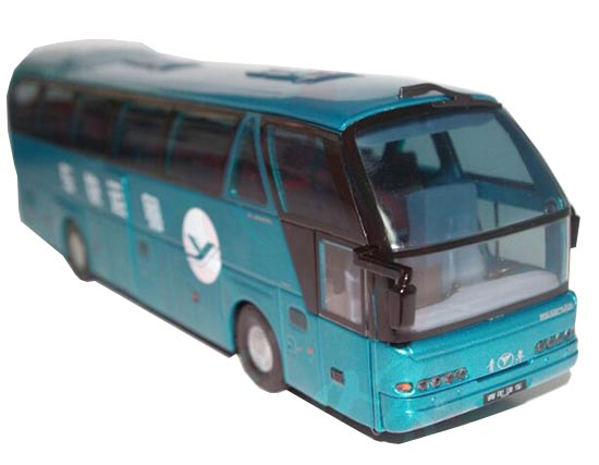 Blue 1:43 Scale Die-Cast Neoplan Tour Bus Model