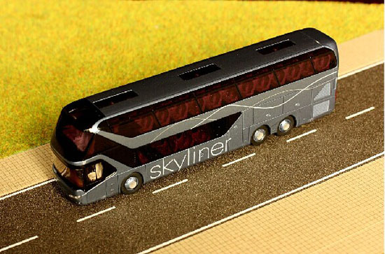 Black 1:87 Scale Neoplan Skyliner 2011 VIP Class Bus Model