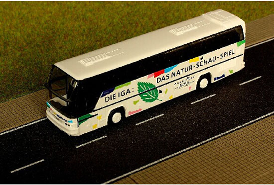 White 1:87 Scale Rietze Neoplan Cityliner Iga 1993 Bus Model