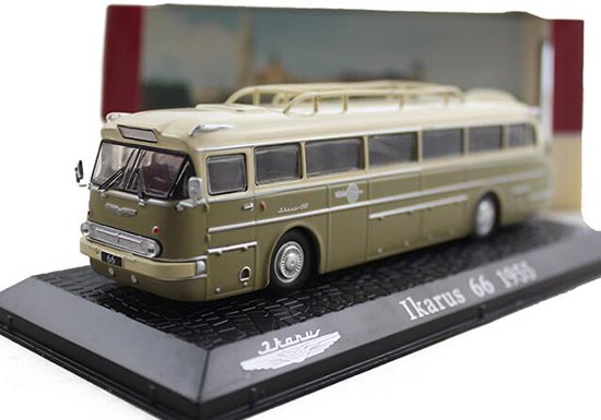 1:72 Scale Atlas Brand Ikarus 66 1955 Bus Model