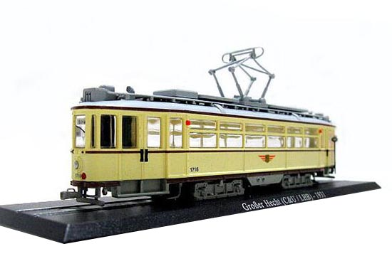 Creamy White Atlas 1:87 Scale Grober Hecht 1931 Tram Model